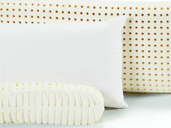 Almohada de latex y material látex 100% natural