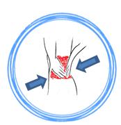 Refuerzo lumbar para prevenir los dolores de espalda y ayudar al reposo de aquellos que padecen problemas en la columna en su descanso en el colchon