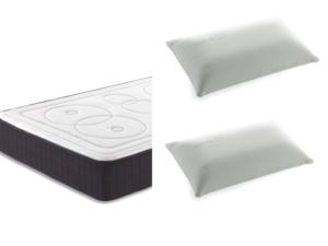 pack colchón viscoelastico elipses y almohadas viscoelasticas