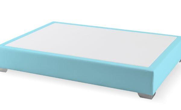 Canapé fijo Max colchón azul claro