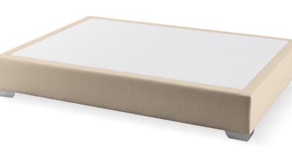 Canapé fijo Max colchón polipiel beige