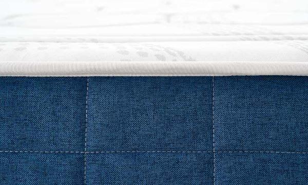 Detalle del colchón Fresh Natur de comotex 6cm de viscoelastica